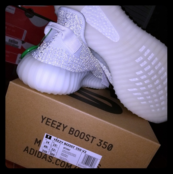 huge discount 3cfb6 117fb Yeezy boost 350 v2 static (reflective) size 14 NWT